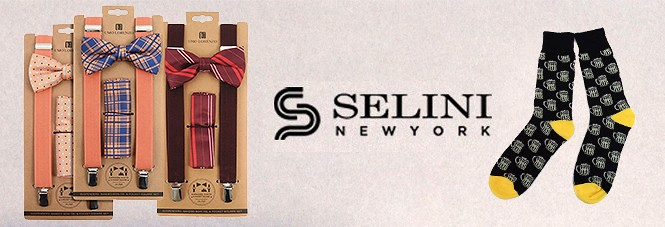 Established in , Selini New York is a business-to-business wholesale and eCommerce company specializing in wholesale fashion accessories. We offer high-quality wholesale ties, bow ties, socks, hats, belts, suspenders, cufflinks, & more! We get new products in every month and constantly evolve depending on trends.