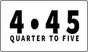 Quarter to Five